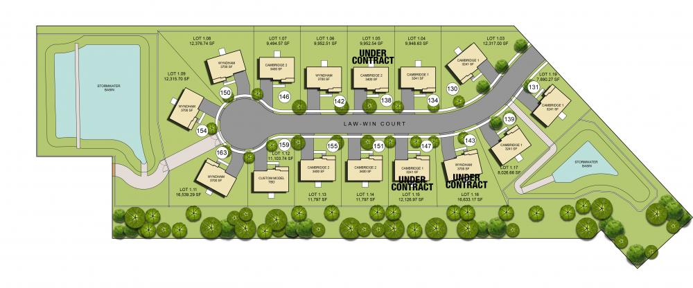 Pioneer Estates Available Lots