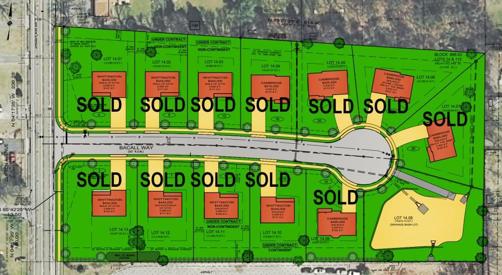 Lauren Estates Available Lots